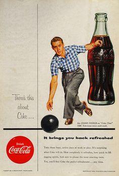 52 Superb Vintage Coca-Cola Ads (Part Coca Cola Poster, Coca Cola Ad, Pepsi, Coke, Vintage Labels, Vintage Ads, Vintage Signs, Cartoon Tv Shows, Retro Advertising