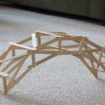 how to build a cantilever bridge out of popsicle sticks