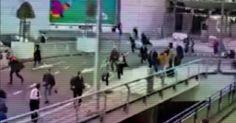 osCurve Brasil : Vídeo: passageiros fogem em pânico do aeroporto de...