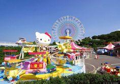 Pretpark volledig aan  Hello Kitty gewijd in Japan