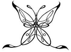 Celtic Butterfly Tattoo Design Picture 8
