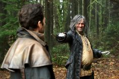 Once Upon a Time March 5, 2017. Hook and Pinocchio
