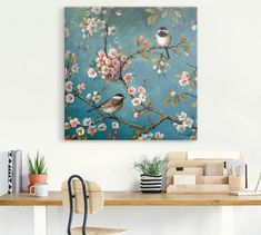 Apple Tree Flowers, Landscape Pencil Drawings, Gallery Wall, Tapestry, Frame, Lisa, Home Decor, Products, Art Types