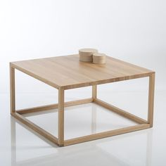 Table basse cubique, Crueso La Redoute Interieurs Cube Coffee Table, Large  Coffee Tables, 3bdfaaf05ae6