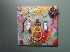 OOAK Handcrafted Ornate Decorative Found Object by TwicePossessed