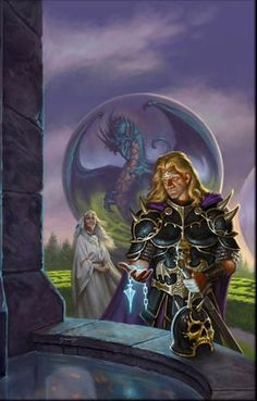 Dragonlance, Dragons of a New Age Trilogy, Dawning of a New Age by Matt Stawicki.