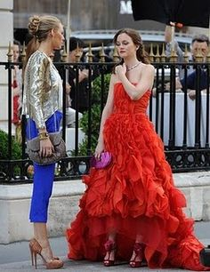 All time fave Blair Waldorf look