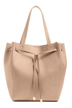 10 Fabulous Fall Bags: BP. Faux Leather Drawstring Tote
