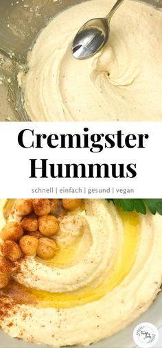 My favorite hummus Vegan For A Week, Clean Eating, Healthy Eating, Fabulous Foods, Food Items, Food Presentation, Vegan Recipes, Good Food, Food Porn
