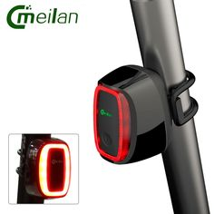 Meilan 6 Modes Waterproof Bicycle LED Light Bike light Cycling Tail Lamp CE RHOS FCC MSDS Certification Bicycle Accessories X6