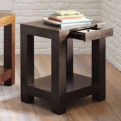 Parsons End Table - Chocolate | West Elm
