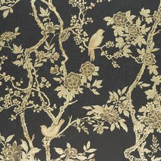 Ralph Lauren Wallpaper LWP65395W Marlowe Floral Gilded Lacquer