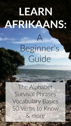 Learn Afrikaans for Beginners. Begin Afrikaans leer. Teaching Safety, Teaching Kids, Afrikaans Language, South African Flag, South Afrika, Learning Spanish, Africa Travel, Vocabulary, Cape Town