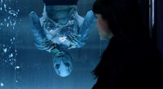 In Hellboy Abe Sapien says that in 30 years he's only completed two sides to a Rubik's cube. The two sides shown to be completed are blue and green which are never adjacent on a normal Rubik's cube. Hellboy 2004, Abe Sapien, Red Right Hand, Recent Movies, Supernatural Beings, Marvel Movies, Movie Trailers, Alien Logo, 30 Years