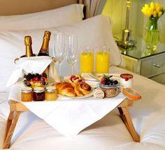 Questa mattina colazione da signori :-D