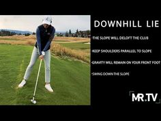 """In the first of a new series on MR.TV, Kyla Inaba explains how to make pure contact while standing on a downhill lie. The biggest mistake golfers make? """"Fighting"""" the slope, rather than rolling with it. This drill includes three easy steps get yourself setup properly on the slope, so you can execute the perfect [...] The post How to handle downhill lies appeared first on FOGOLF."""
