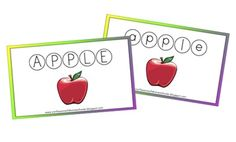 Letter A for Apple Updated | Confessions of a Homeschooler