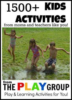 1500+ kids activities PLAY group