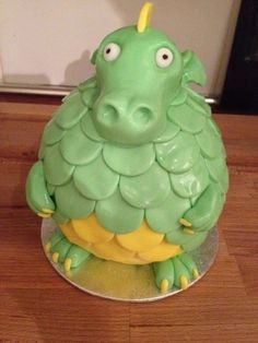 Dragon By sparrow-26 on CakeCentral.com