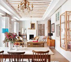 Old-world elegance meets vintage in Madrid