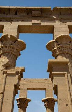 The Kiosk Of Trajan At The Temple Of Isis Philae