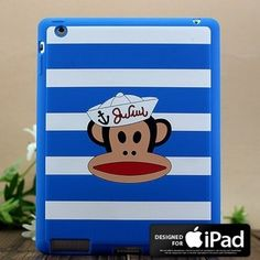 Paul frank Silicone Skin case brings you a fashionable way to protect your Apple iPad 2.It provides a chic protection against the hits and dings of everyday life. Made from tough silicone which offers a no-slip grasp and shock-absorption, Paul Frank iPad case wraps your iPad 2 in a pretty neat package