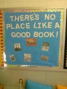 Wizard of Oz Classroom Theme: Classroom Library bulletin board. Library Rules, Library Themes, Library Book Displays, Library Decorations, Library Boards, Library Ideas, Elementary Classroom Themes, School Themes, Kindergarten Classroom
