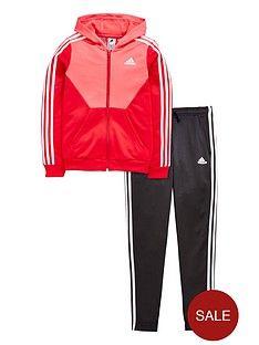 adidas Performance Hooded Trainingsanzug Kinder NEU
