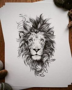 Image result for lion flower tattoo