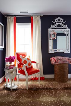 A Connecticut Home that's Dripping in Color | Rue