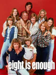 Eight Is Enough premiered on March and ran for 5 seasons before wrapping up in August of Starring Dick Van Patten, the show focused on Tom Bradford and his 8 children. Childhood Tv Shows, My Childhood Memories, Great Memories, 1970s Childhood, Childhood Toys, Old Shows, Great Tv Shows, Vintage Tv, Cinema