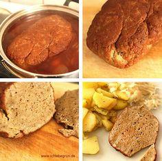 Rezept DIY: Veganer / Vegetarischer Braten aus Seitan (Weizengluten)
