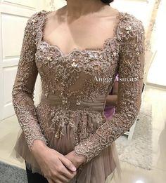 Ideas For Bridal Pakistani Dresses 2018 Kebaya Peplum, Kebaya Lace, Kebaya Brokat, Batik Kebaya, Dress Brokat, Batik Dress, Indonesian Kebaya, Indonesian Wedding, Asian Prom Dress