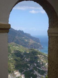 Aussicht der Terrasse ...