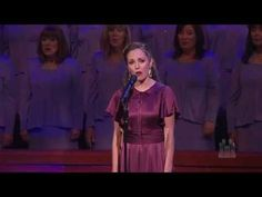 ▶ Climb Ev'ry Mountain, from The Sound of Music - Laura Osnes and the Mormon Tabernacle Choir - YouTube