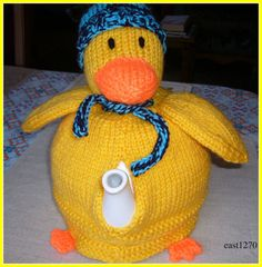 Knitted Duck novelty