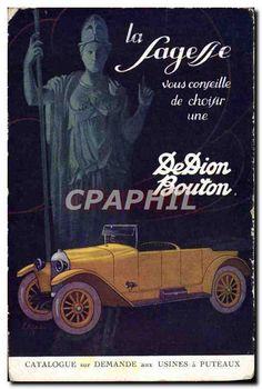 CPA Automobile La Sagesse Dion Bouton Puteaux