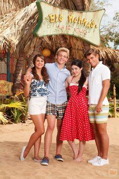 garett clayton   ... , Ross Lynch, Grace Phipps y Garrett Clayton: Fotos - Teen Beach Movie/ Big Mamas