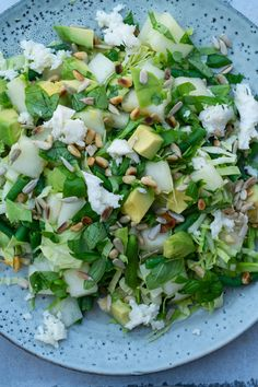 Avocado, Cooking Recipes, Healthy Recipes, Healthy Food, Frisk, Lettuce, Vegan Vegetarian, Mozzarella, Keto