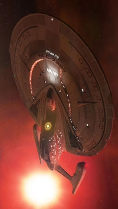 The Sovereign Class USS Enterprise-E which appeared in Star Trek: The Next Generation Movies commanded by Captain Jean-Luc Picard Star Trek 1, Star Trek Ships, Science Fiction, Fiction Movies, Starfleet Ships, Star Trek Images, Star Trek Starships, Sci Fi Ships, Star Trek Universe