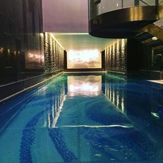 It is not often in London you get a swimming pool all to yourself! #AndRelax #ChuanSpa #Langham #SpaDay by sarahmatildajohnston