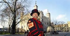Yeoman Warder or 'Beefeater' at the Tower of London