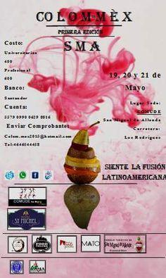 COLOM - MEX // San Miguel de Allende del 19 al 21 de mayo 2015