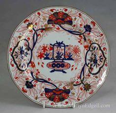 Copeland & Garrett  ironstone plate, circa 1840