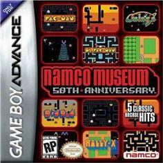 Namco Museum 50th Anniversary - Game Boy Advance Game