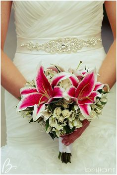 Turks and Caicos Wedding bouquet