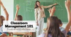 Learn how to control your classroom so that you can get back to teaching & make a real impact in your students' lives