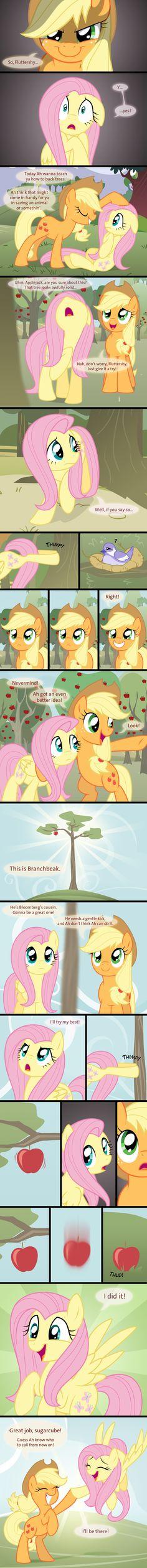 Aww, Applejack's so sweet :) <3
