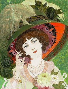 ~ Georges de Feure ~ French artist, 1868-1943