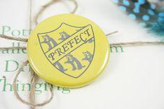 Hufflepuff Prefect Pin by petitepotions on Etsy